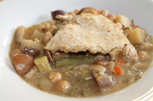 Vegan Pot Pie with Herbed Mushroom Gravy